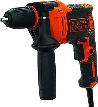 Black+Decker BEH710 1-gäng slagborrmaskin (710 W, slagborrmaskin, 13 mm snabbspännsborrfoder, konstant höger-/vänsterkonta...