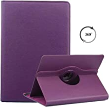 Universal 7 inch Tablet Case, ANGELLA-M 360 Degree Rotating Stand Case Cover for Huawei MediaPad T3 7.0 /Huawei MediaPad T2 7.0 /Huawei MediaPad T1 7.0 - Purple