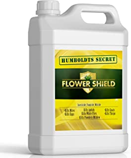Humboldts Secret Flower Shield – Powerful Insecticide – Pesticide – Miticide – Fungicide – Bug Spray – Spider Spray – Plant and Flower Protection – Healthy Treatment for Pests and Fungus – 32 Ounces