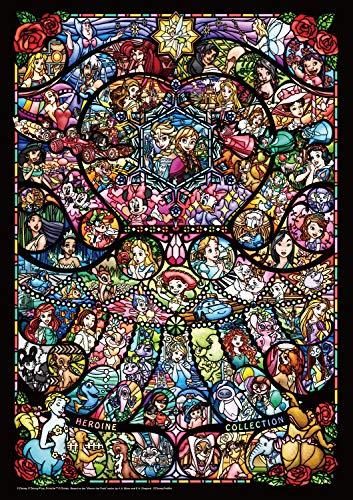 テンヨー『ディズニー&ディズニーピクサーヒロインコレクションステンドグラス(TEN-DW1000-005)』
