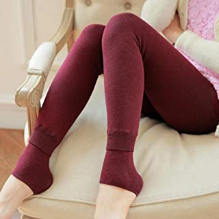 Winter Women Leggings, Thick Winter Warm Pants High Waist Slimming Thicken High Elastic Women's Warm Velvet Leggings