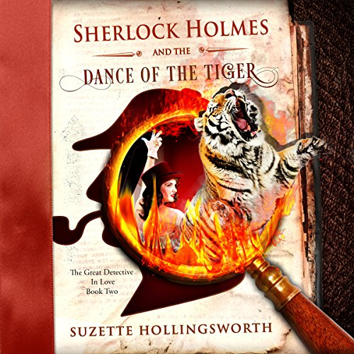 Sherlock Holmes and the Dance of the Tiger audiobook cover art