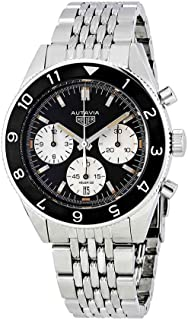 Tag Heuer Heritage Black Dial Automatic Mens Watch CBE2110.BA0687