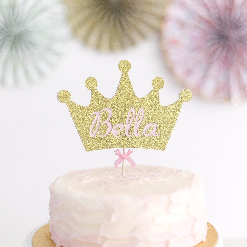 Awesome Princess Crown Cake Topper Fairy Princess Crown Cake Topper Funny Birthday Cards Online Elaedamsfinfo