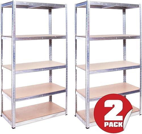 All Things Garage 2PK Heavy Duty Wall Shelf Kit