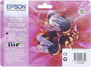 Epson Ink Cartridge - T0735, Multi Color