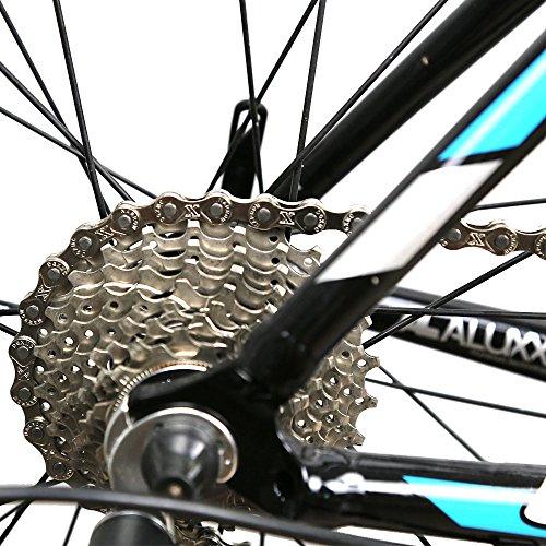 ZONKIE Fahrrad Kette 9-fach 116 Glieder - 3