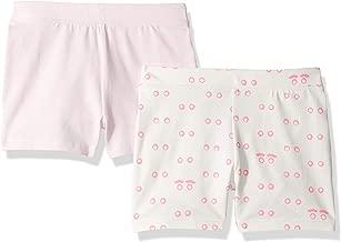 Amazon/ J. Crew Brand- LOOK by crewcuts Girls' 2-Pack Tumble Short