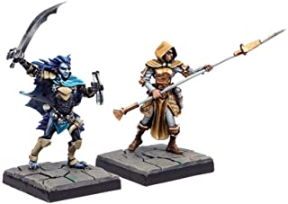 Mantic Games MGDS19 Legendary Heroes of The Crypts Miniature Game, Multi-Colour
