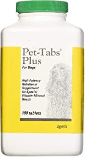 Pet-Tabs Plus For Dogs - 180 Tabs