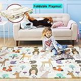 Baby Play Mat XPE Foam Floor Gym Children Mats 58x77In Baby Room Folding