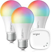 Sengled Smart Light Bulb, LED Light Bulb That Works with Alexa, Google Home, Color Changing Bulb, A19 E26 Alexa Light Bulb...