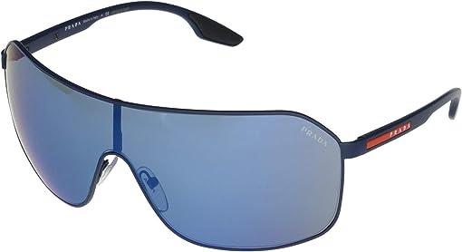 Matte Blue/Dark Blue Mirror Blue