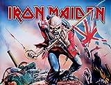 LPGI Iron Maiden Trooper groß Stoff Poster/Flagge 101,6x
