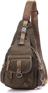 LAMMOK BIG SALE Sling Backpack, Sling Bag Small Crossbody Daypack Casual Backpack Chest Shoulder Pack