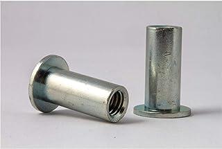 Aluminum Rivet-NUT Plain Finish Pack of 50 8-32 X .010-.075 Grip Range