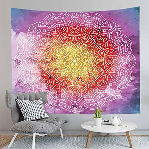 3D Bohemian Mandala Arazzo Montaggio a parete Yoga Casa Camera da letto Decorazione Sfondo Panno Arazzo Coperta A24 180x200cm