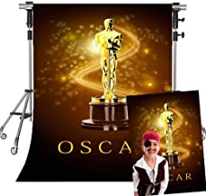 MEETSIOY Fashion Party Backdrop for Photography Brown Hollywood Show Theme Background Fashion Salon Party Decoration Background Props MT666