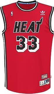adidas Miami Heat #33 Alonzo Mourning NBA Soul Swingman Jersey, Red