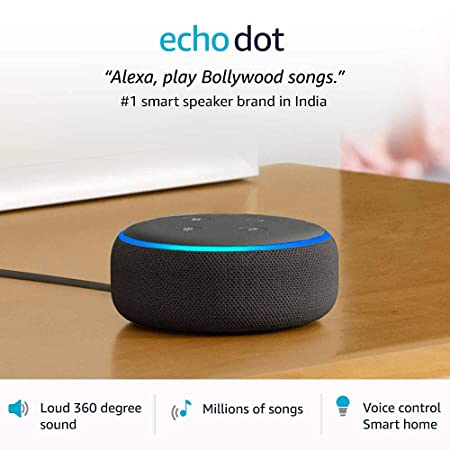 Echo Dot 3rd Gen 1 Smart Speaker Brand In India With Alexa Black Amazon In Electronics