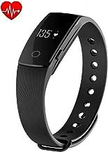 Smart Band with Heart Rate Monitor Fitness Activity Tracker Sleep Counter Wireless Pedometer Wristband Sweatproof Sports Bracelet 107