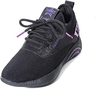 Yolanda Zula Womens Road Running Shoes Mesh Tennis Sneakers Cushioning Lightweight Athletic