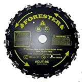 Forester Chain Saw Carbide Tooth 9' Brush Blade
