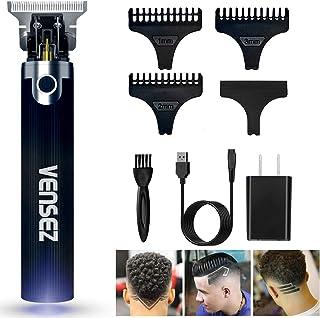 Vensez Professional Outliner Hair Trimmer, T-Blade Cordless Li Clipper, 0mm Baldheaded Hair Clipper for Men Zero Gapped De...