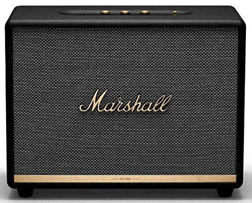 Marshall Woburn II Wireless Bluetooth Speaker - Black (Renewed)