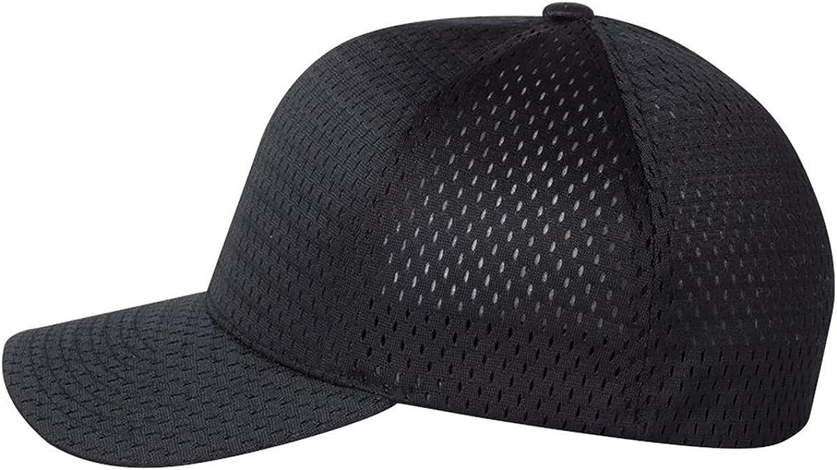 Cool & Dry Pique Mesh Cap, Color: Black, Size: One Size