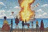 Mosaico Rufy Puzzle One Piece 1007 pezzi Faccina in legno per adulti Anime Douyin Peripheral Cartoon, Puzzle impegnativi - Addio a Meri mosaico 1000 pezzi