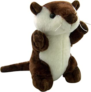 Canned Critters Stuffed Animal: River Otter 6