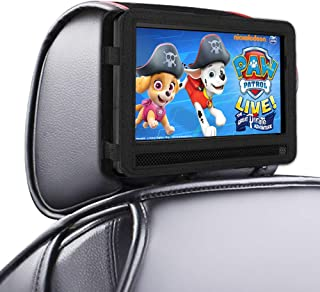 DR. J Car Headrest Mount Holder Strap for Swivel and Flip Style Portable DVD Player - 9.5 Inch to 10.5 Inch Screen