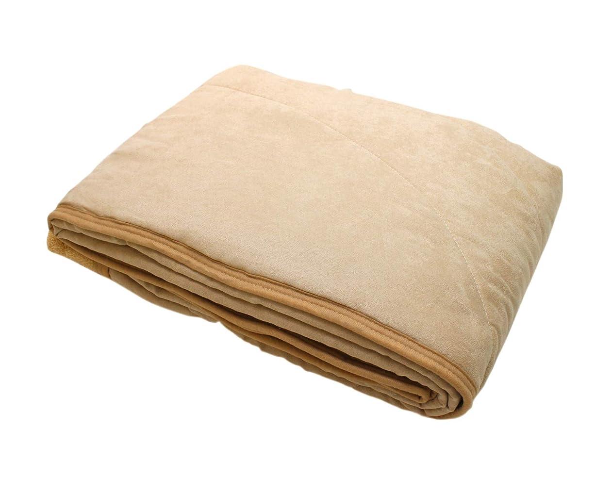 徹底的にスクランブル資格ロマンス小杉 毛布 ベージュ シングル(140×200cm) ロマンス岩盤浴 キルトケット(ボアタイプ) 1-3300-8915-8400
