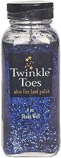 Twinkle Toes Hoof Polish Purple Glitter