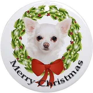 CafePress Chihuahua #3 Ornament Round Holiday Christmas Ornament