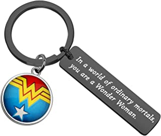MAOFAED Wonder Woman Gift DC Comics InspiredGift Girl Power Diana Prince Gift in a World of Ordinary Mortals You are a Wo...