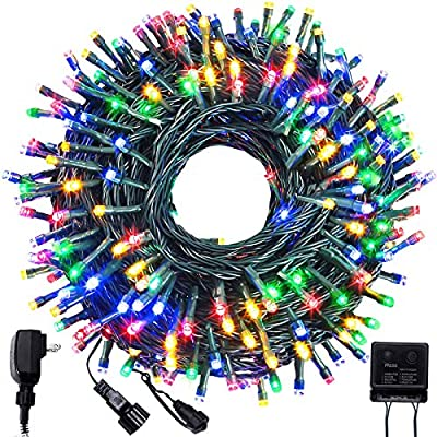 BOLTLINK Outdoor Christmas String Lights, Indoo...