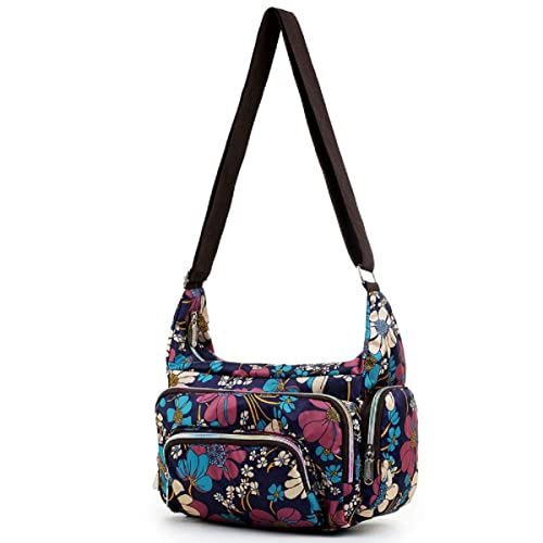 8540f7282bf462 Waterproof Small Crossbody Bag Purse Cute Messenger Bag Shoulder Bag for  Girls and Women