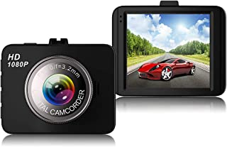 Dash Cam,150° Wide Angle Full HD 1080P with 3.0 LCD,G-Sensor,Night Vision,WDR,Loop Recording Dashboard Camera Recorder