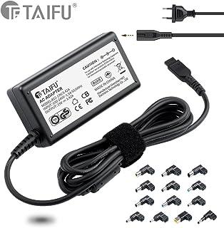 TAIFU65W portátiles y netbooks cargador delgado de voltaje automático selección universal / adaptador de CA / fuente de alimentación con el 13 puerto para Acer, Asus, HP, Compaq, Dell, IBM / Lenovo, Toshiba, Samsung, 15V 16V 18,5V 19V 19,5V 20V, para Asus X551C, X551M, X53S, A52F, X54C, Lenovo T500 T530, Lenovo Think Pad X220 T410 T420 G710, Lenovo Yoga 11 11S 13, Essential G500 G500s G505, Flex 10 14 15 14D 15D, Acer aspire E1 5920 5755G 5741G Cargador de enchufe de la EU