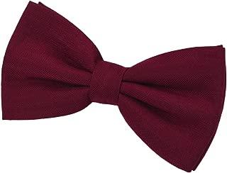 SISIDI Cotton Men's Pre-Tied Bow Tie,Adjustable Double Layer Bow Tie - Various Colors
