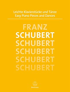 Easy Piano Pieces and Dances Schubert