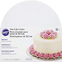 Wilton 8-Inch Cake Circle, 12-Pack