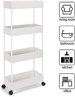 mobile portaoggetti da cucina piccolo carrello mobile bagno verde tavolo con rotelle per camera cucina soggiorno Carrello di servizio