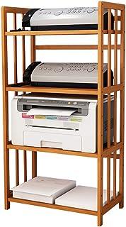 estante de cocina Estante de impresora estante de almacenamiento de archivos de escritorio estante de rack multicapa min...