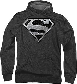Superman - - Hombre Súper metálico Escudo capucha