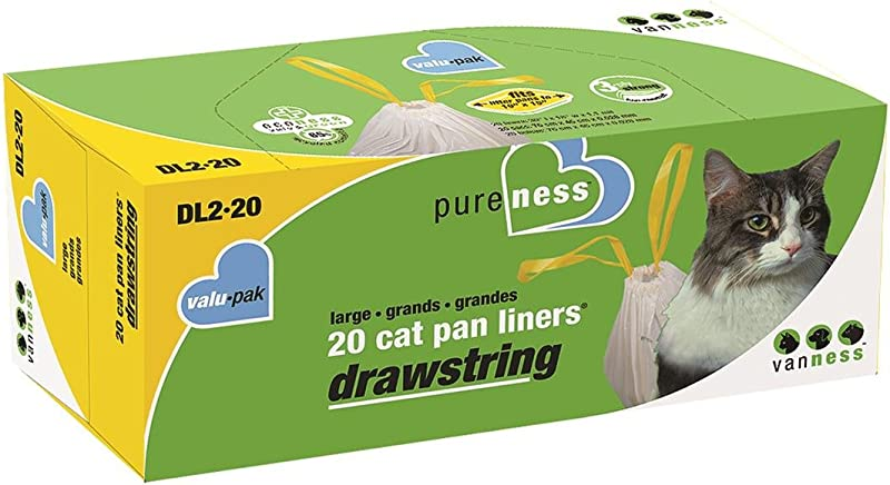 Pureness Large Drawstring Valu Pak Cat Pan Liners
