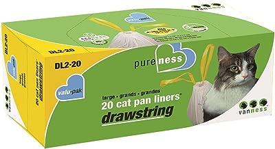 Pureness Large Drawstring Valu-Pak Cat Pan Liners,