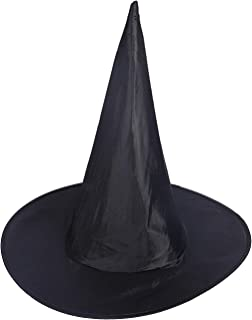 HDE Witch Hat Halloween Costume Cosplay Wicked Witch Accessory Adult One Size